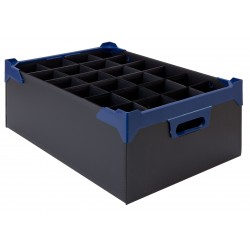 Glassware Storage Box L500 xW345 x H165mm x 5 Pk