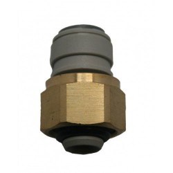 KEG BEER-OUTLET ADAPTOR 1/2 BSP x 3/8 TUBE