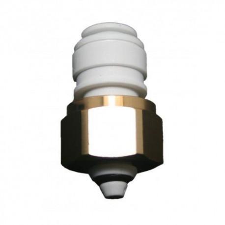 KEG GAS-INLET ADAPTOR 1/2 BSP x 3/8 TUBE
