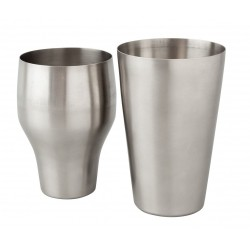 Mezclar French Shaker - Stainless Steel