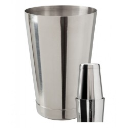 Mezclar Boston Can Set - Stainless Steel - 18oz and 28oz Set