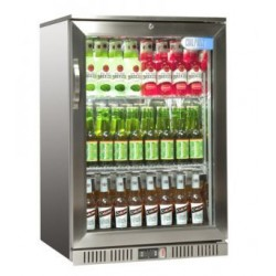 Coolpoint HXST110 Single door cooler - Stainless Steel