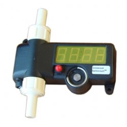 Xactrocount Flowmeter - Straight 3/8""