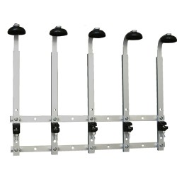 5 Bottle Standard Wall Rack 70cl / 1 litre