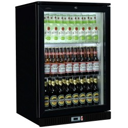 Coolpoint HX101 - Single Door Black Bottle Cooler