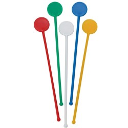 "Stirrers 6"" Assorted - Pack of 200"
