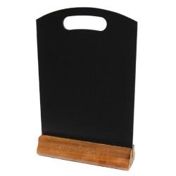 Hand Held Menu Board - Red Mahogany Base - 320mm x 210mm