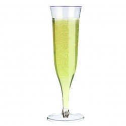 Disposable Champagne Glasses x 120