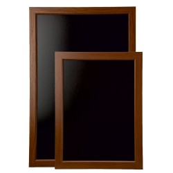Framed Blackboard Oak - 636mm x 486mm