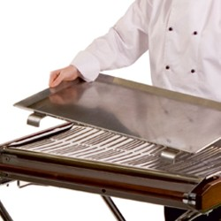 "Cinder Barbecue Griddle 29"" x 17.5"" Aluminium"