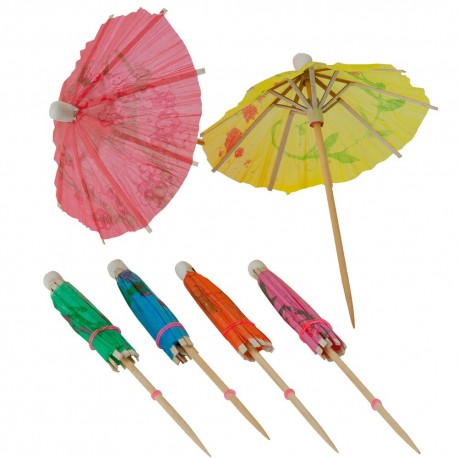 Cocktail Parasols - Pack of 1000
