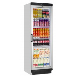 Tefcold Glass Door Upright Fridge