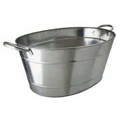 Galvanised steel beverage tub 25 litre /44 pint