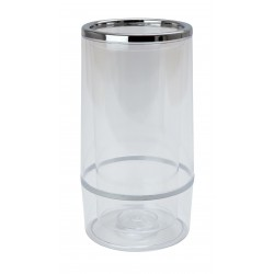 Chrome & Plastic Wine Cooler